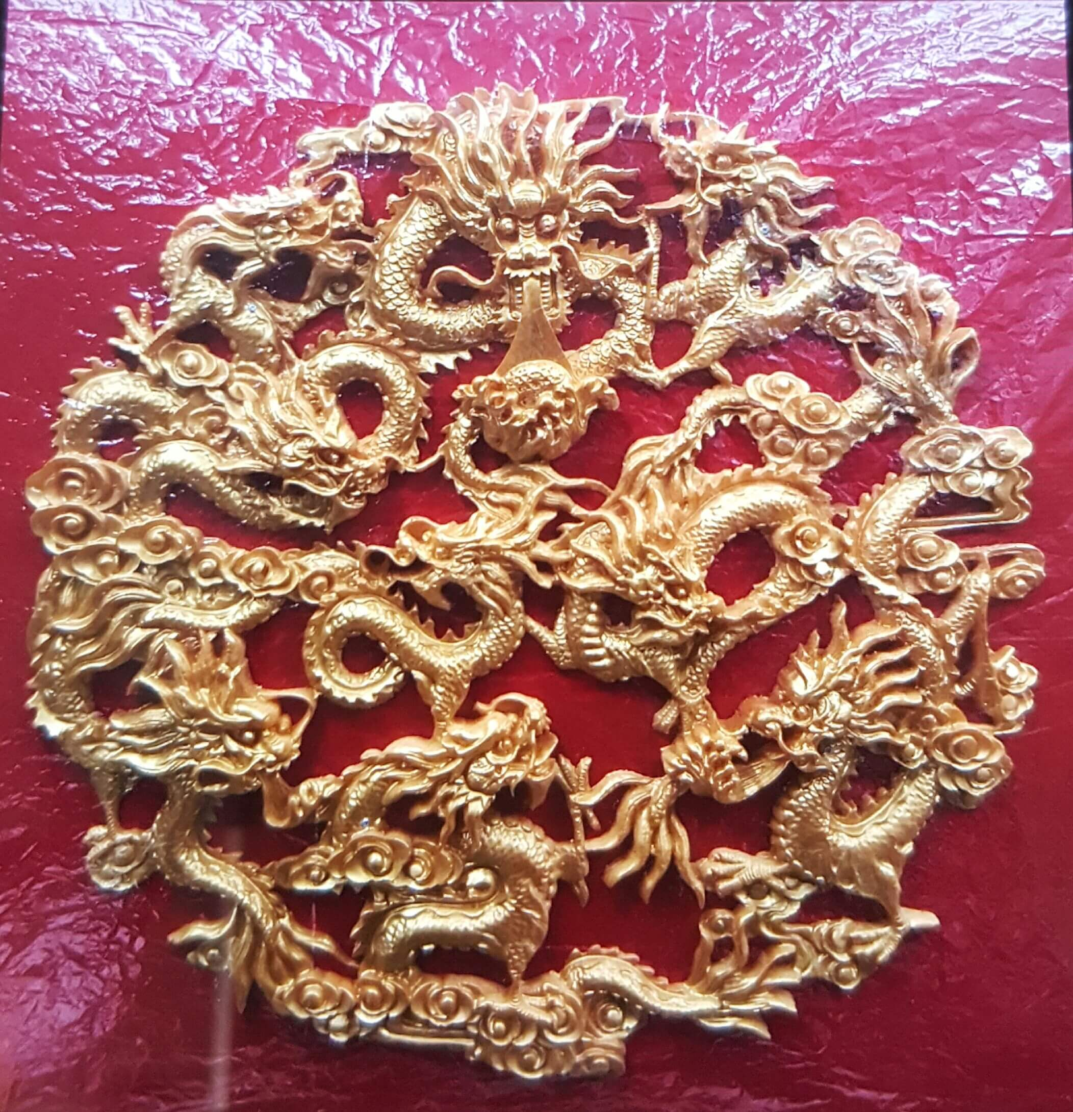 FENG SHUI DRAGON WALL FRAME